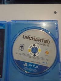 Uncharted Collection PS4 case