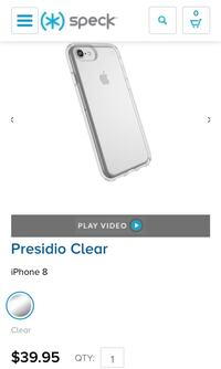 New! Speck Case IPhone 8 Mapleville, 02839