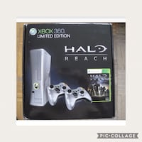 black Xbox 360 game console with controller Stratford, N4Z