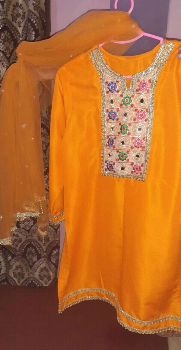 kids lahnga suit on indian roa silk  23649af5-68f8-4f24-b13c-e96b5c9a2303