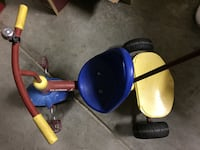 Radio Flyer Deluxe Steer and Stroll Trike Tricycles  SANJOSE