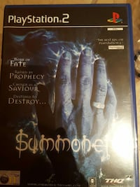 PS2 Summoner DVD spill cse
