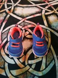 blue and orange kids athletic shoes Wesley Chapel
