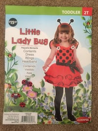Baby lady bug Custome Fits for 12/18 months  Corona, 92882