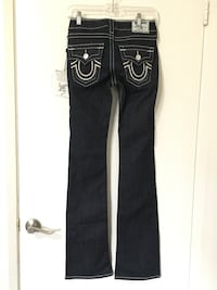 True Religion Hi Rise Boot Cut Jeans (Women's Size 26) *NEW* Fresno, 93727