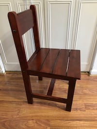 Brown Wooden Chair Sterling, 20164