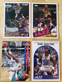 Karl Malone Utah Jazz NBA basketball cards  Gresham, 97030