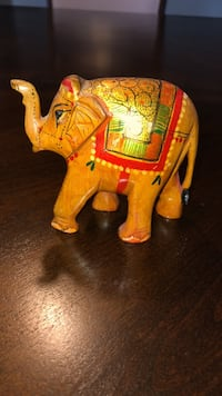 Decorative Wooden Elephant  Whitby, L1R 3E5