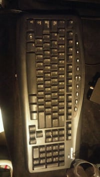 black and gray corded computer keyboard Edmonton, T5M 0S6