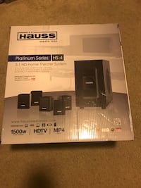 Hauss Home Theater System Charlotte, 28213