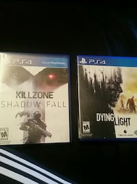 Dying Light and Killzone (PS4)