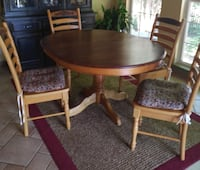 Country Style Dinette table set Lake Ridge, 22192
