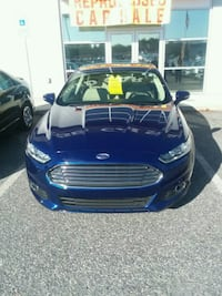 2014 Blue ford fusion energi luxury hybrid SE Hagerstown, 21740