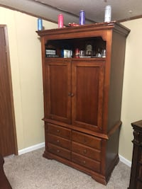 Brown wooden cabinet with drawer Cohutta, 30710