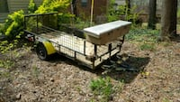5x10 Utility trailer with military hitch&toolbox
