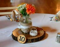 Rustic centerpieces Pittsburgh, 15205