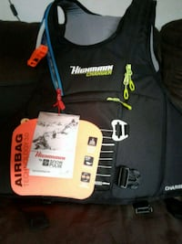 Snopulse avalanche air bag 1000.00 new in stores