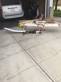 Rc glider and car and gas powered air plane. Looking for cash but open to trades and obo Edmonton, T5T 6H7