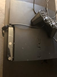 Black sony ps3 slim console Annandale, 22003