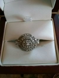 silver-colored ring with clear gemstones College Park, 20740