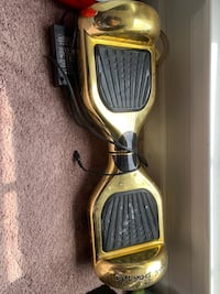 Gold hover board