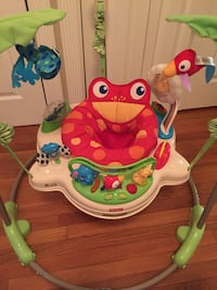 white, red, and green Fisher Price jumperoo Saugus, 01906
