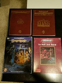 Advanced Dungeons and Dragons Books