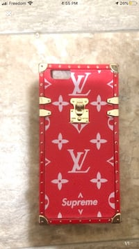 Louis Vuitton x Supreme iPhone 6 Plus phone case Toronto, M1T 3C6