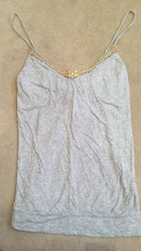 Abercrombie & Firch Beaded Cami Tank Top. Size Medium Herndon, 20170