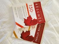 Resumes and cover letters book  Brampton, L6V 3V2