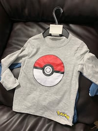 Poke mom long sleeve shirts ..2pack...size 2 to 4 yrs...brand new...never used 250 mi