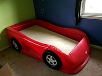 red and black car bed frame Wilmington, 28412