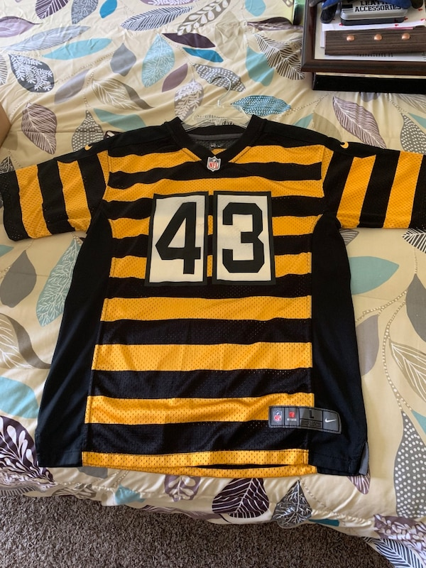 the best attitude 8689e 3f203 Troy Polamalu Pittsburgh Steelers bumblebee jersey