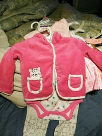 toddler's pink and white hoodie Manchester, 37355