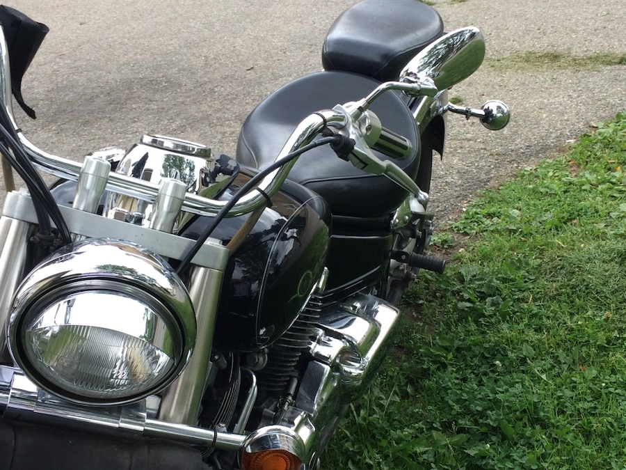black and gray cruiser motorcycle - Canada