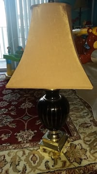 black and brown table lamp Alexandria, 22304