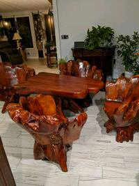 Natural wood table and chairs Toms River, 08757