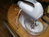 white and gray stand mixer Townsend, 37882