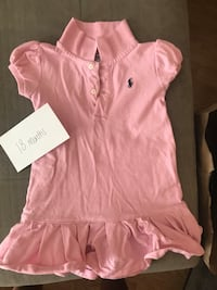 Little girl pink polo dress - 18 months  Columbia, 21044