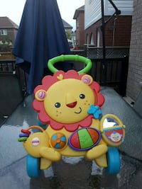 Fisher-Price musical lion walker Toronto, M1E 3T4