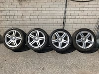 Audi A4 OEM wheels and tires set Mississauga, L4W 2M9
