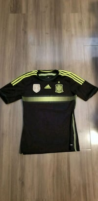 black and yellow Adidas soccer jersey Calexico, 92231