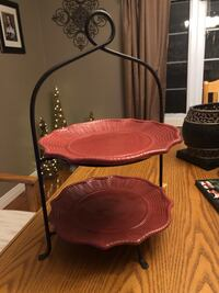 GORGEOUS TWO TIER PLATE STAND