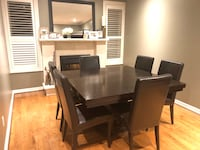Dining Table Set w/ 6 Chairs