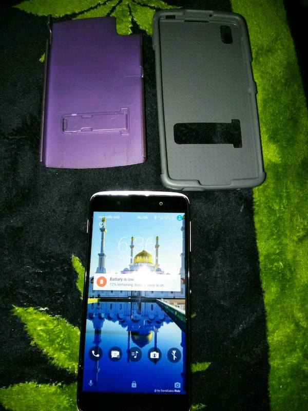 CRICKET PHONE ANDROID ALCATEL IDOL 4 $100 00 CASH