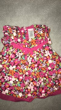 pink and white floral scoop neck shirt Amarillo, 79110