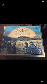 Unopened Catan Cities and Knights