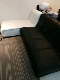 Black and white L shape sofa Richmond, V7C 3A2