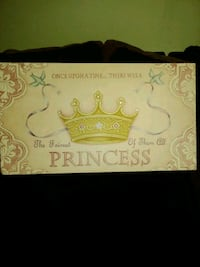 Beautiful princess canvas picture and princess castle night light Summerville, 29483