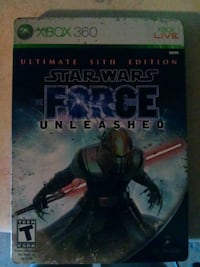 Star wars the force unleashed xbox 360 game Shakopee